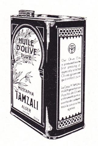Huile Mustapha Tamzali